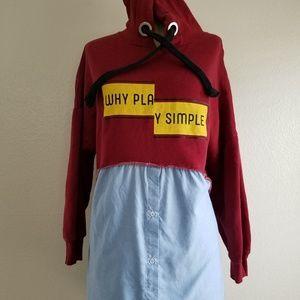 "Zara Woman Sweater Dress ""Why Play Simple"""